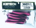 "KEITECH 3"" Easy Shiner - Gummifisch Swimbait LT 03 Bubblegum Grape"