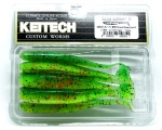 "KEITECH 4"" Easy Shiner - Gummifisch Swimbait LT 35 Hot Tiger"