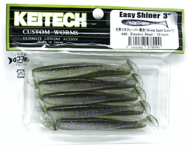 KEITECH 3 440 Electric Shad