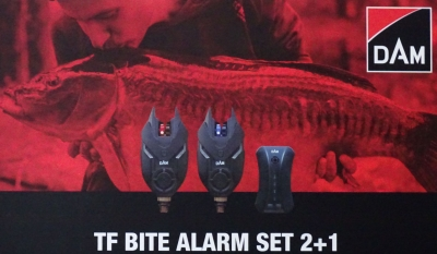 DAM TF Bite Alarm Set 2+1 inkl. ...