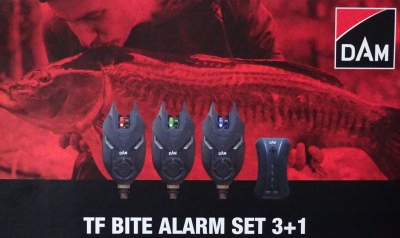 DAM TF Bite Alarm Set 3+1 inkl. ...